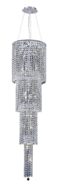 Elegant Lighting 2031G66C Maxim 18-Light Four-Tier Crystal Sale $3708.00 ITEM#: 2013448 MODEL# :2031G66C/RC UPC#: 848145039734 :