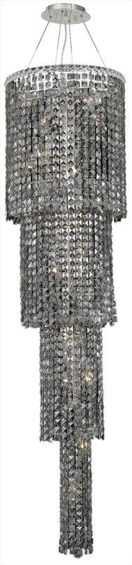 Elegant Lighting 2031G66C-SS Maxim 18-Light Four-Tier Crystal Sale $16862.00 ITEM#: 2013455 MODEL# :2031G66C-SS/SS UPC#: 848145039796 :