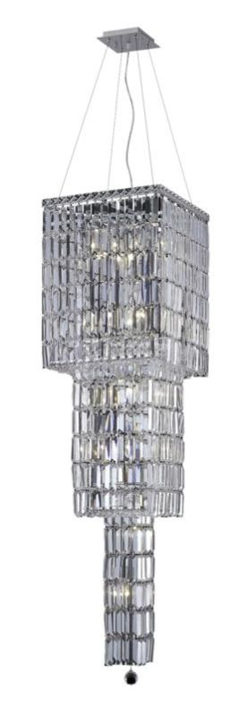 Elegant Lighting 2032G54C Maxim 14-Light Three-Tier Crystal Sale $5150.00 ITEM#: 2013510 MODEL# :2032G54C/SA UPC#: 848145040389 :