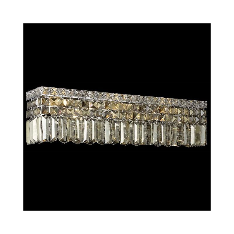Elegant Lighting 2032W26C-GT Maxim 6-Light Crystal Wall Sconce