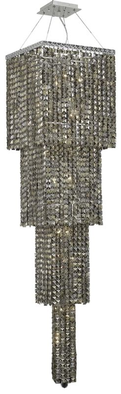 Elegant Lighting 2033G66C-GT Maxim 18-Light Four-Tier Crystal Sale $20880.00 ITEM#: 2013601 MODEL# :2033G66C-GT/SS UPC#: 848145041454 :
