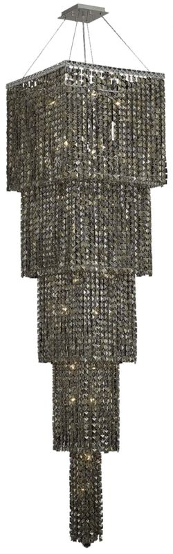 Elegant Lighting 2033G80C-GT Maxim 22-Light Five-Tier Crystal Sale $7622.00 ITEM#: 2013608 MODEL# :2033G80C-GT/RC UPC#: 848145041522 :