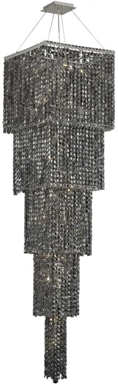 Elegant Lighting 2033G80C-SS Maxim 22-Light Five-Tier Crystal Sale $31240.00 ITEM#: 2013611 MODEL# :2033G80C-SS/SS UPC#: 848145041553 :