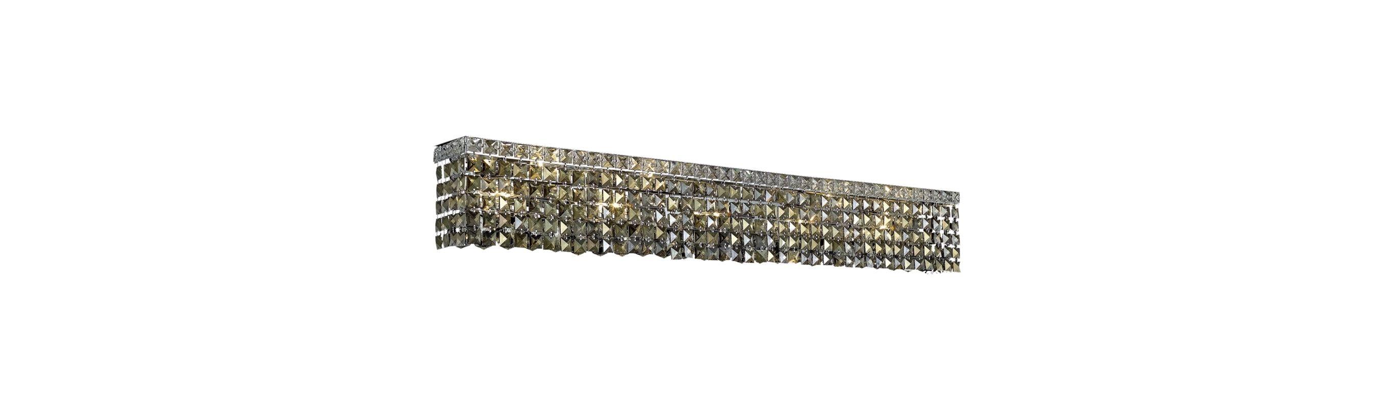 Elegant Lighting 2033W44C-GT Maxim 10-Light Crystal Wall Sconce