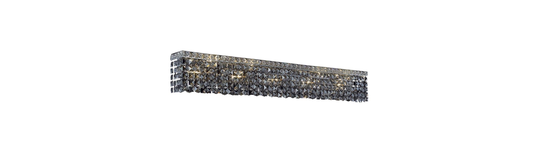Elegant Lighting 2033W44C-SS Maxim 10-Light Crystal Wall Sconce