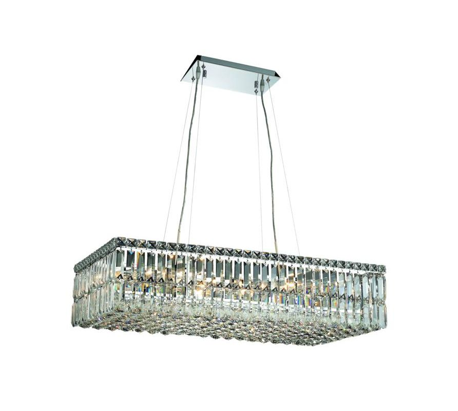 Elegant Lighting 2034D32C Maxim 16-Light Crystal Pendant Finished in Sale $5128.00 ITEM#: 2013658 MODEL# :2034D32C/SA UPC#: 848145042185 :