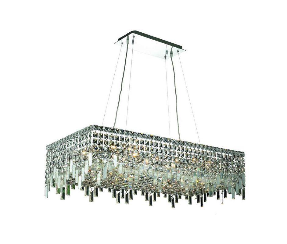 Elegant Lighting 2035D36C Maxim 16-Light Crystal Pendant Finished in Sale $7896.00 ITEM#: 2013694 MODEL# :2035D36C/SA UPC#: 848145042543 :