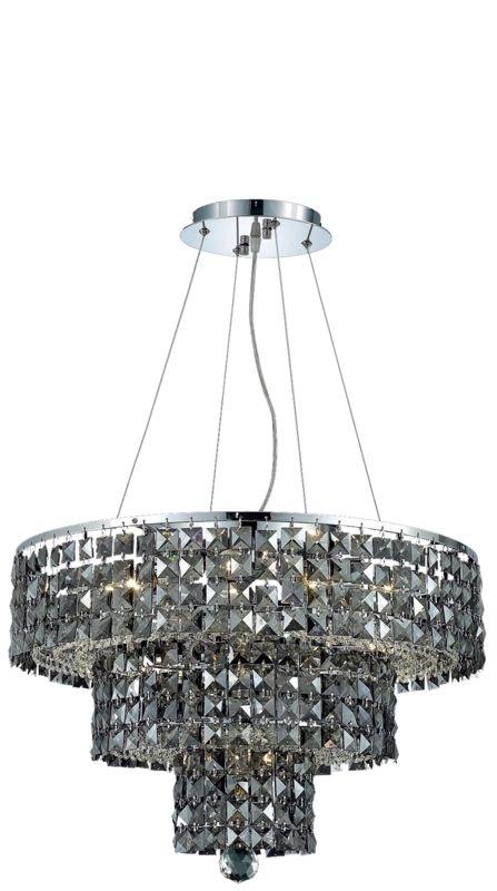 Elegant Lighting 2037D20C-SS Maxim 9-Light Three-Tier Crystal Sale $1494.00 ITEM#: 2013744 MODEL# :2037D20C-SS/RC UPC#: 848145043045 :
