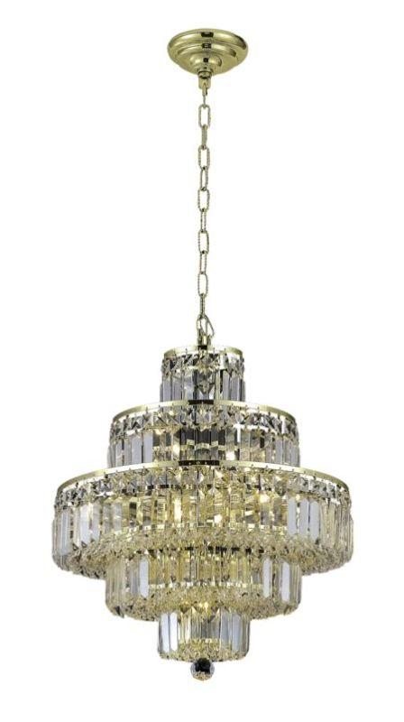 Elegant Lighting 2038D20G Maxim 13-Light Five-Tier Crystal Sale $2370.00 ITEM#: 2013782 MODEL# :2038D20G/SA UPC#: 848145043427 :