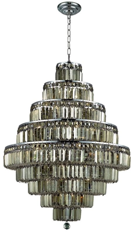 Elegant Lighting 2038D30C-GT Maxim 20-Light Nine-Tier Crystal Sale $23094.00 ITEM#: 2013799 MODEL# :2038D30C-GT/SS UPC#: 848145043595 :
