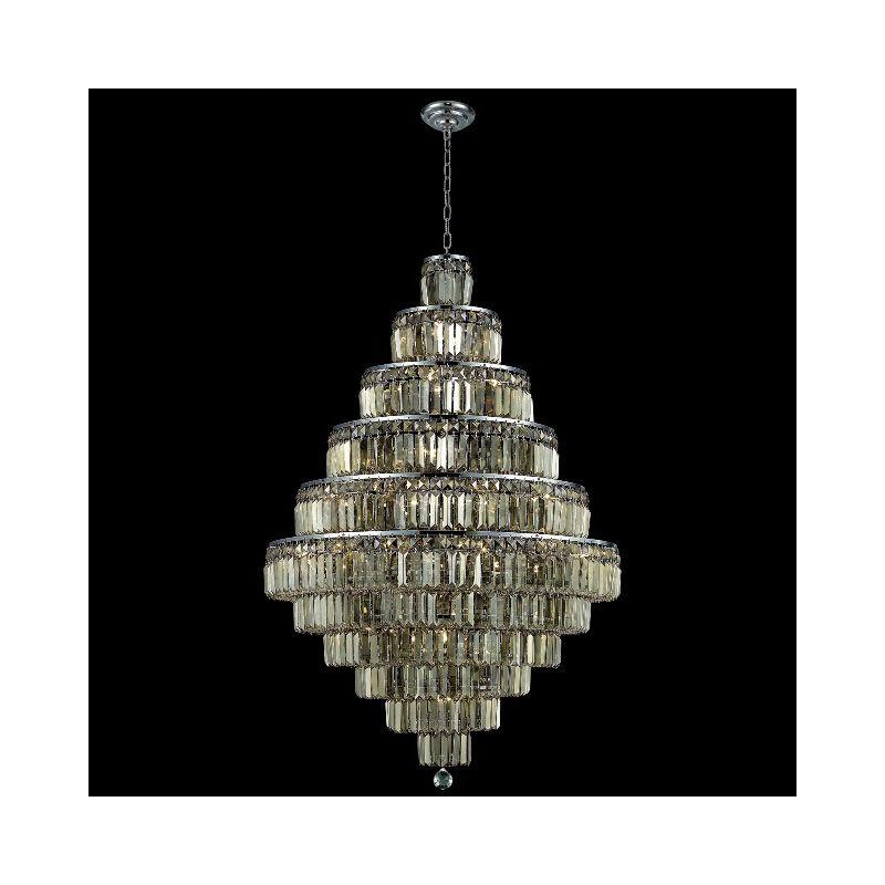 Elegant Lighting 2038D32C-GT Maxim 30-Light Eleven-Tier Crystal Sale $28182.00 ITEM#: 2013809 MODEL# :2038D32C-GT/SS UPC#: 848145043694 :