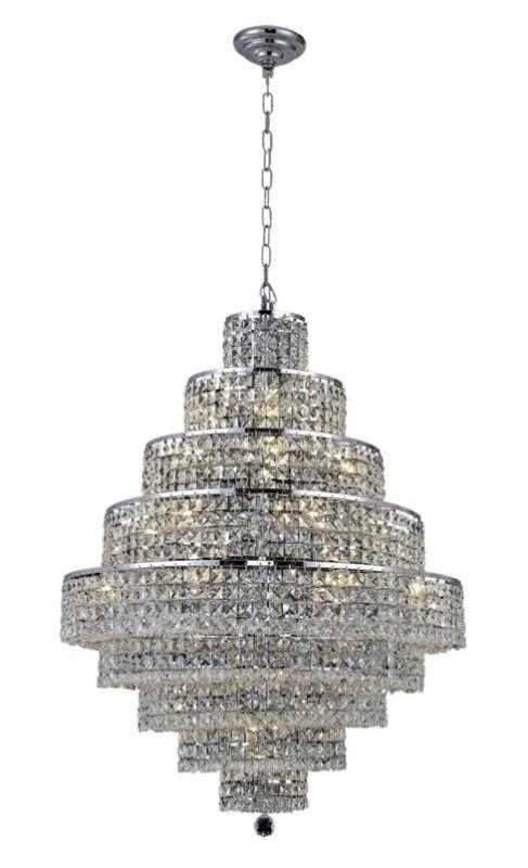 Elegant Lighting 2039D30C Maxim 20-Light Nine-Tier Crystal Sale $6470.00 ITEM#: 2013850 MODEL# :2039D30C/SA UPC#: 848145044103 :