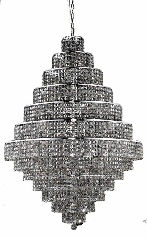 Elegant Lighting 2039G42C-SS Maxim 38-Light Thirteen-Tier Crystal Sale $27522.00 ITEM#: 2013879 MODEL# :2039G42C-SS/SS UPC#: 848145044394 :