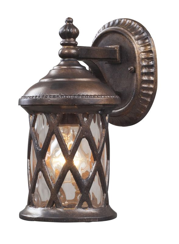 Elk Lighting 42036/1 Barrington Gate 1 Light Outdoor Wall Sconce Sale $160.00 ITEM#: 857123 MODEL# :42036/1 UPC#: 748119021119 :