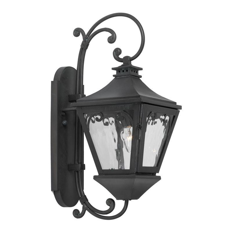 Elk Lighting 6710-C Manor 1 Light 20 Inch Solid Brass Tall Outdoor