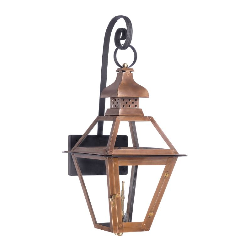 Elk Lighting 7919-WP Bayou 30 Inch Tall Outdoor Wall Mounted Natural