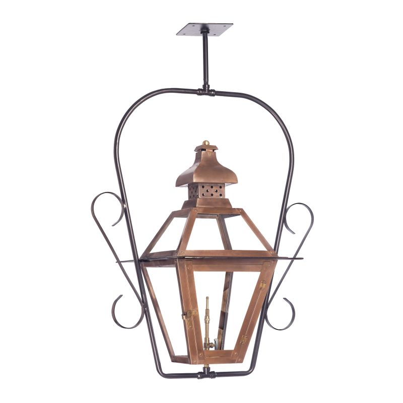 Elk Lighting 7920-WP Bayou 30 Inch Tall Outdoor Ceiling Mounted