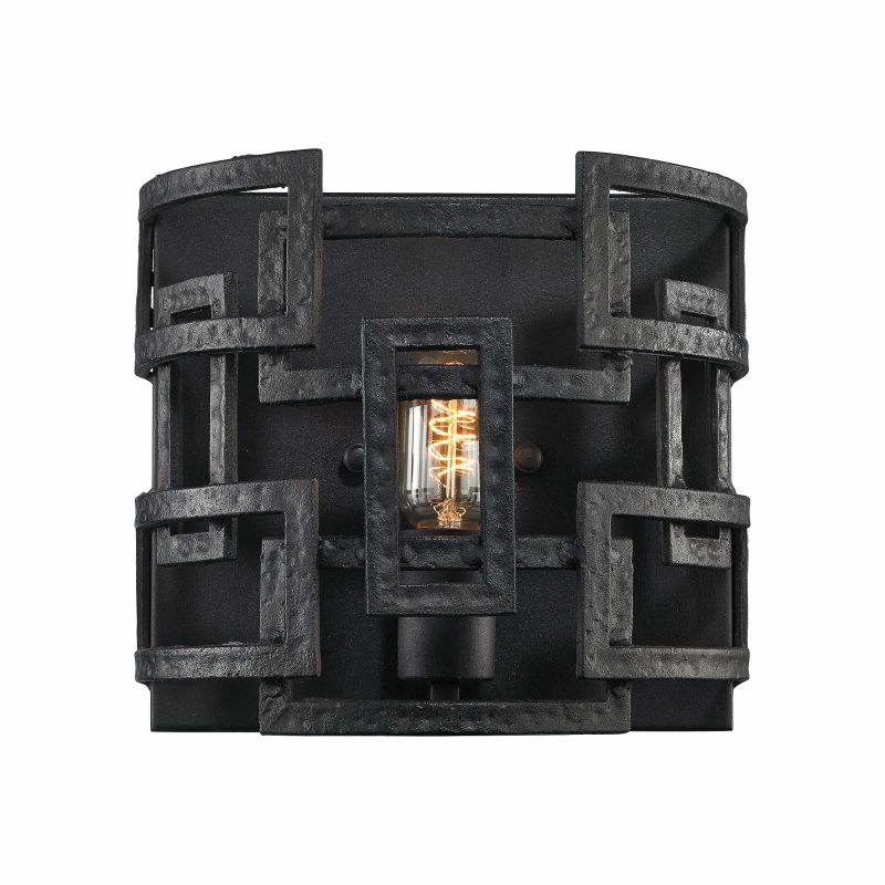 Elk Lighting 14330/1 1 Light Wall Sconce from the Garriston Collection