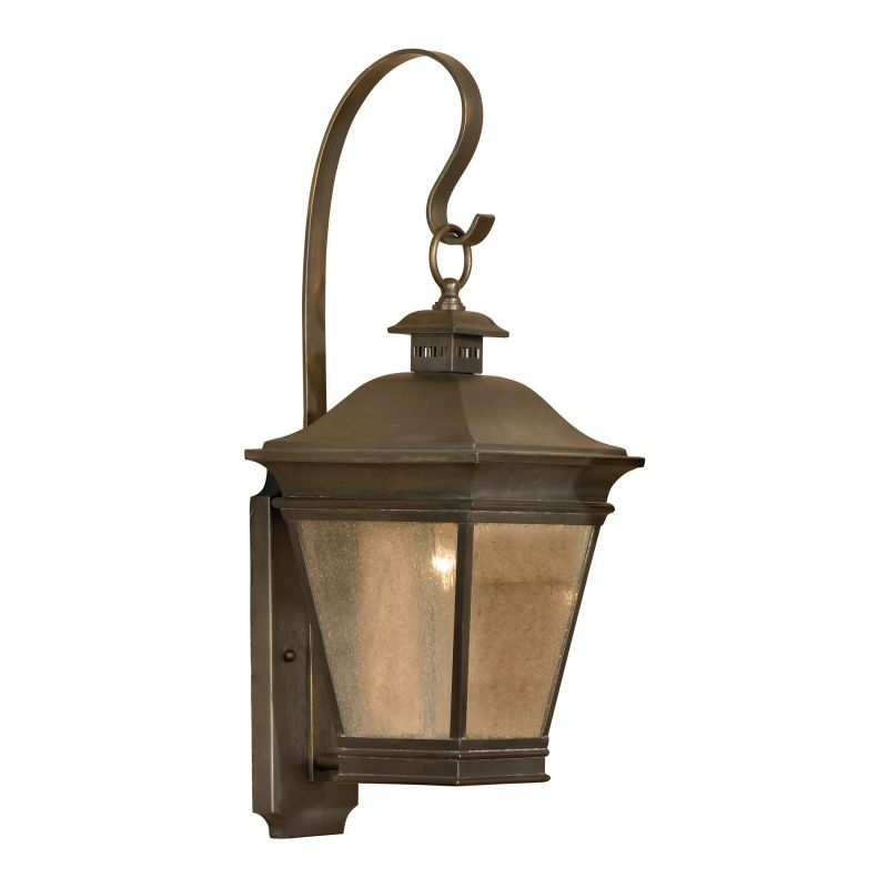 Elk Lighting 5235-C Reynolds Charcoal 1 Light 22 Inch Tall Outdoor