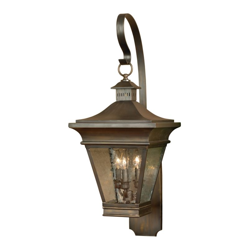 Elk Lighting 5237-ORB Reynolds Oil Rubbed Brass 3 Light 35 Inch Tall