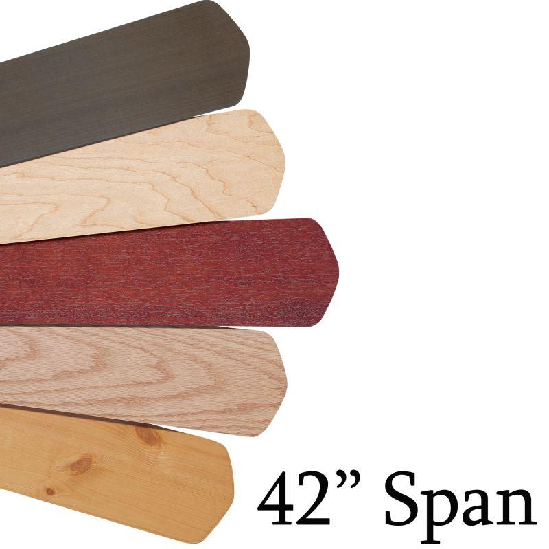 Emerson B42 Fan Blades/ 42 Inch Blade Span Mahogany Ceiling Fan