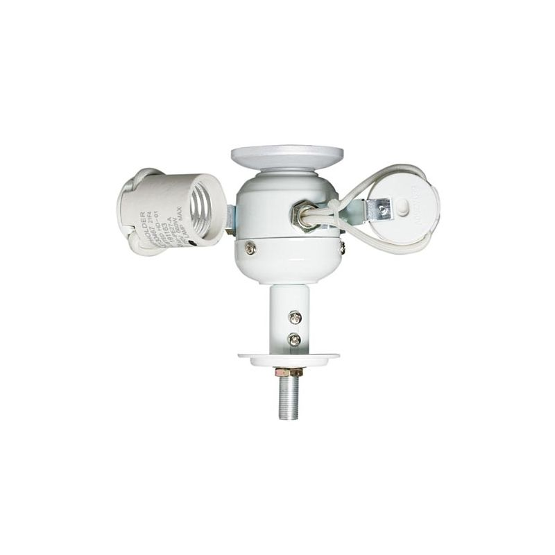 Emerson F480 Three Light Fitter Appliance White Ceiling Fan