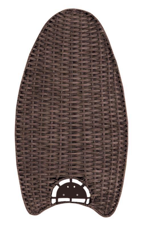 Emerson B20 Fan Blades for Maui Bay Fans Dark Walnut Wicker Ceiling Sale $110.00 ITEM#: 125060 MODEL# :B20DW :