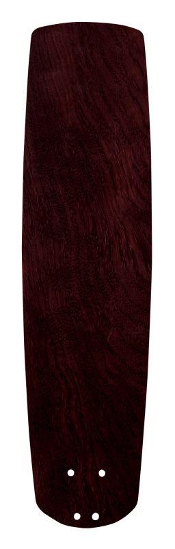 "Emerson B77 22"" Solid Wood Hand Carved Fan Blade Dark Mahogany Ceiling"
