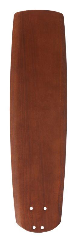 "Emerson B77 22"" Solid Wood Hand Carved Fan Blade Walnut Ceiling Fan"