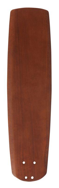 "Emerson B78 25"" Solid Wood Hand Carved Fan Blade Walnut Ceiling Fan"