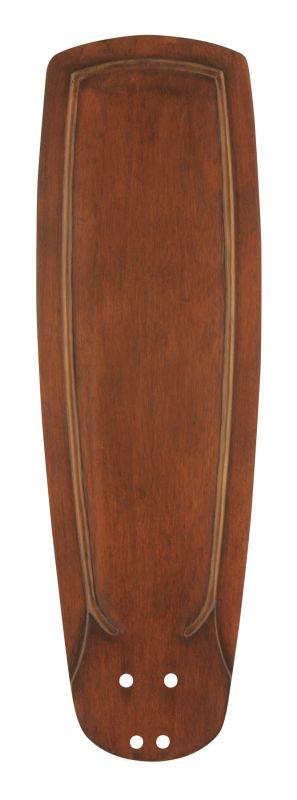 Emerson B90 Solid Wood Hand Carved Blade Dark Oak Ceiling Fan