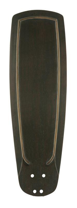 Emerson B90 Solid Wood Hand Carved Blade Vintage Black Ceiling Fan