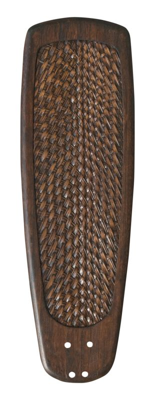 Emerson B92 Solid Wood Hand Carved Blade with Rattan Inlay Walnut