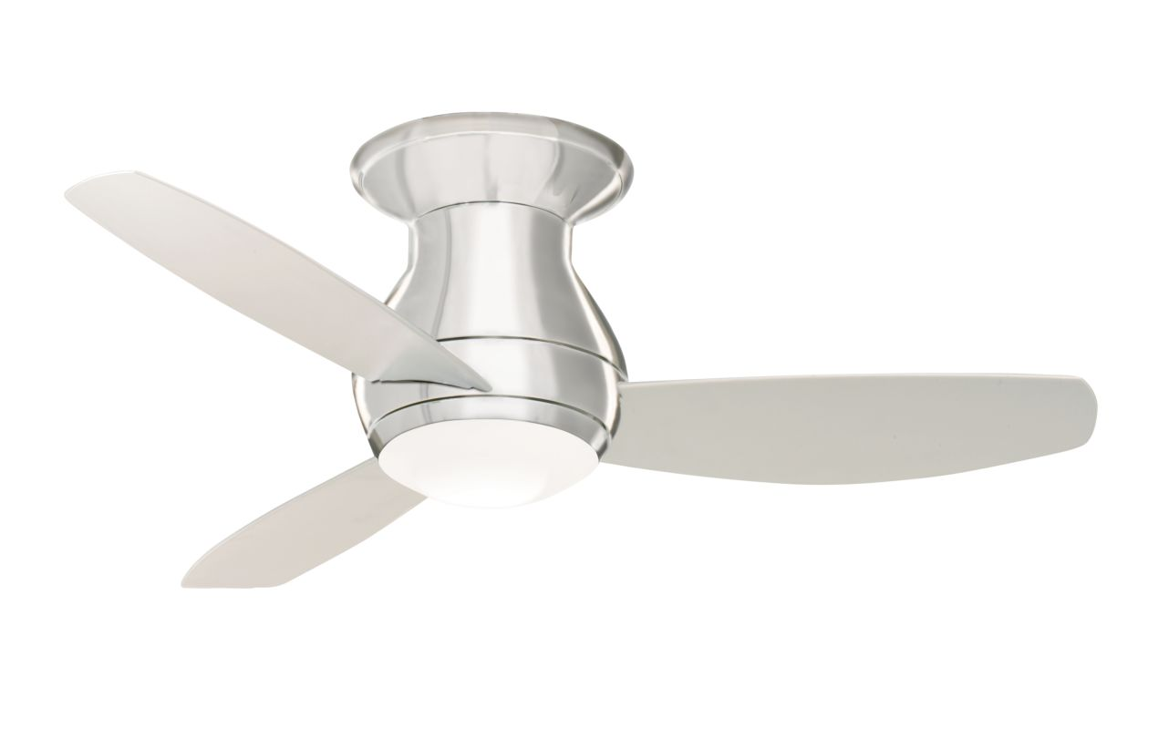 "Emerson CF144 Curva Sky 44"" 3 Blade Ceiling Fan - Blades and Light Kit"