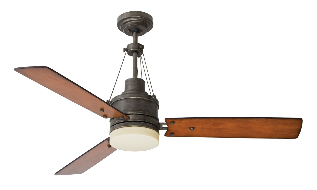 "Emerson CF205 Highpointe 54"" 3 Blade Ceiling Fan - Blades and Light"