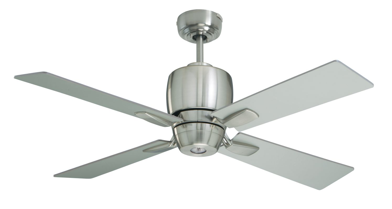 "Emerson CF230 Veloce 46"" 4 Blade Ceiling Fan - Blades and Light Kit"