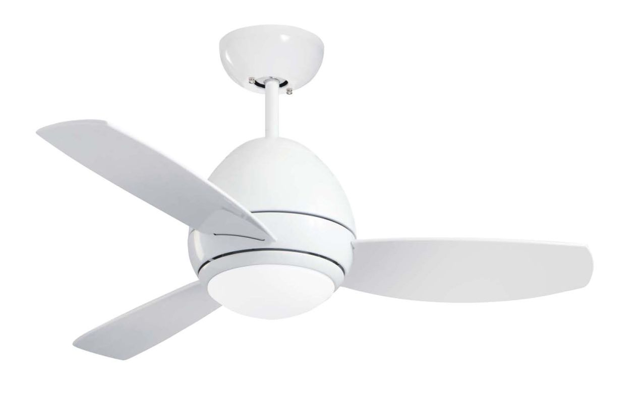 "Emerson CF244 Curva 44"" 3 Blade Ceiling Fan - Blades and Light Kit"