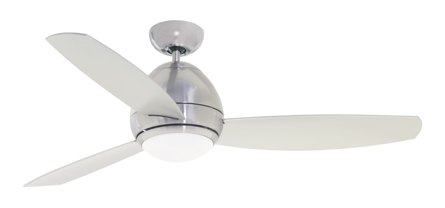 "Emerson CF252 Curva 52"" 3 Blade Ceiling Fan - Blades and Light Kit"