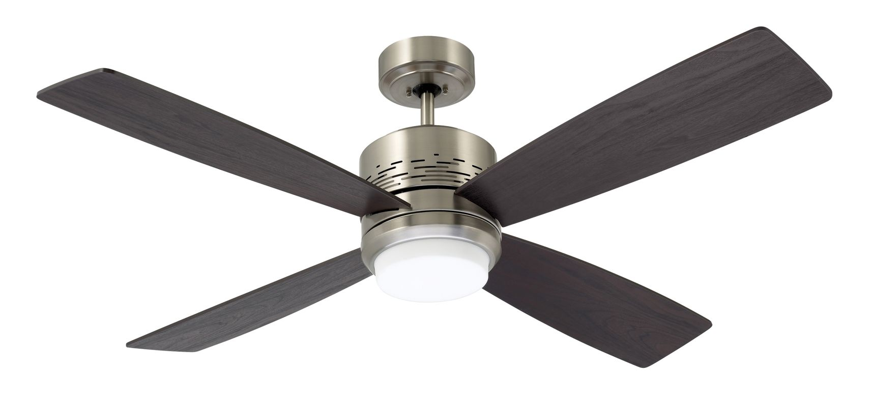 "Emerson CF430 Highrise 50"" 4 Blade Ceiling Fan - Blades and Light Kit"