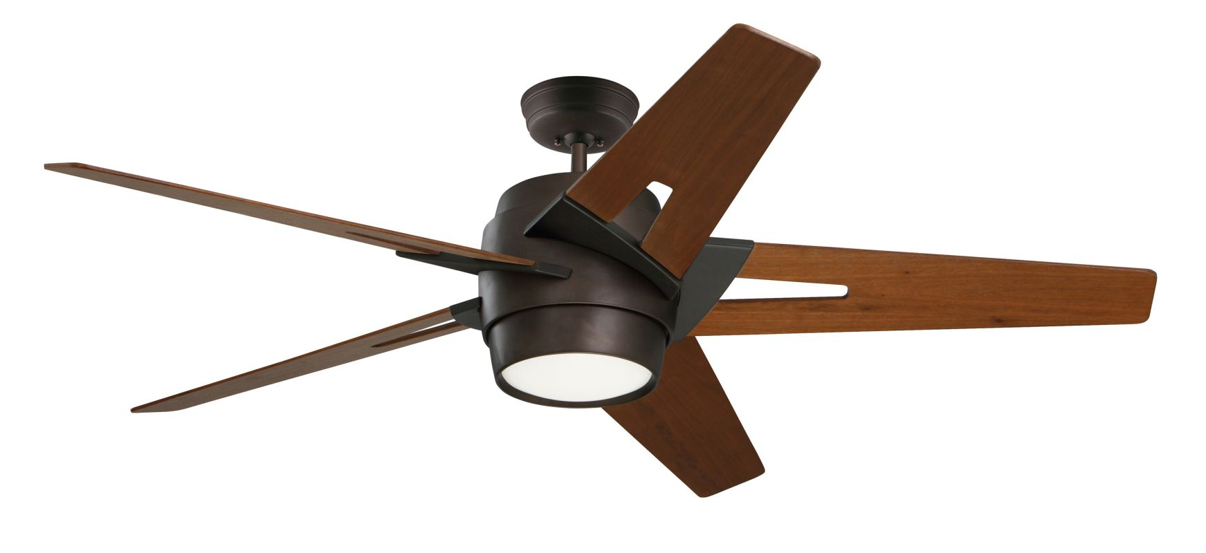 "Emerson CF550 Luxe Eco 54"" 5 Blade Ceiling Fan - Blades and Light Kit"