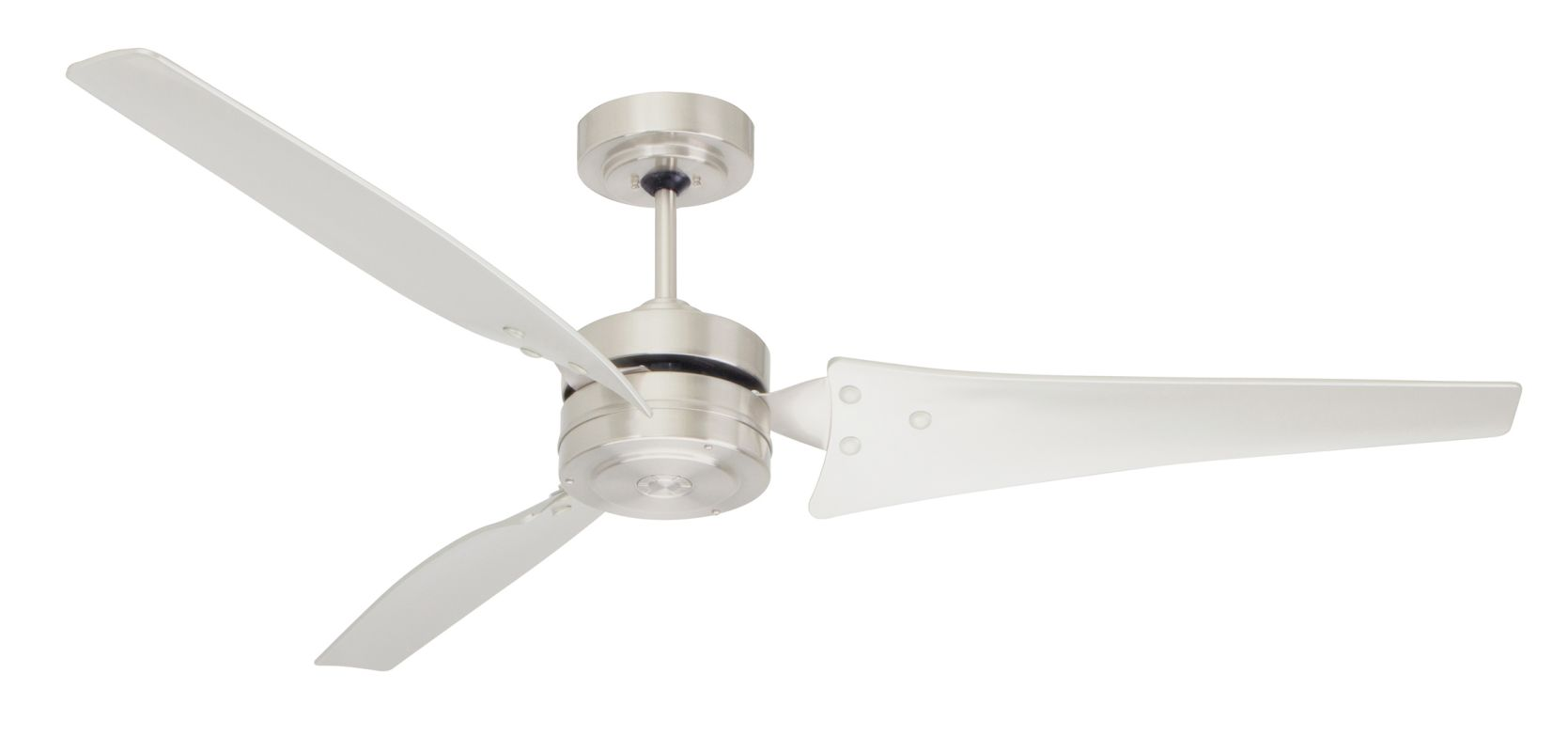 "Emerson CF765 Loft 60"" 3 Blade Ceiling Fan - Blades Included Brushed"