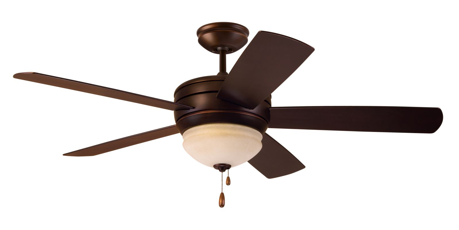 "Emerson CF850 Summerhaven 52"" 5 Blade Outdoor Ceiling Fan - Blades and"