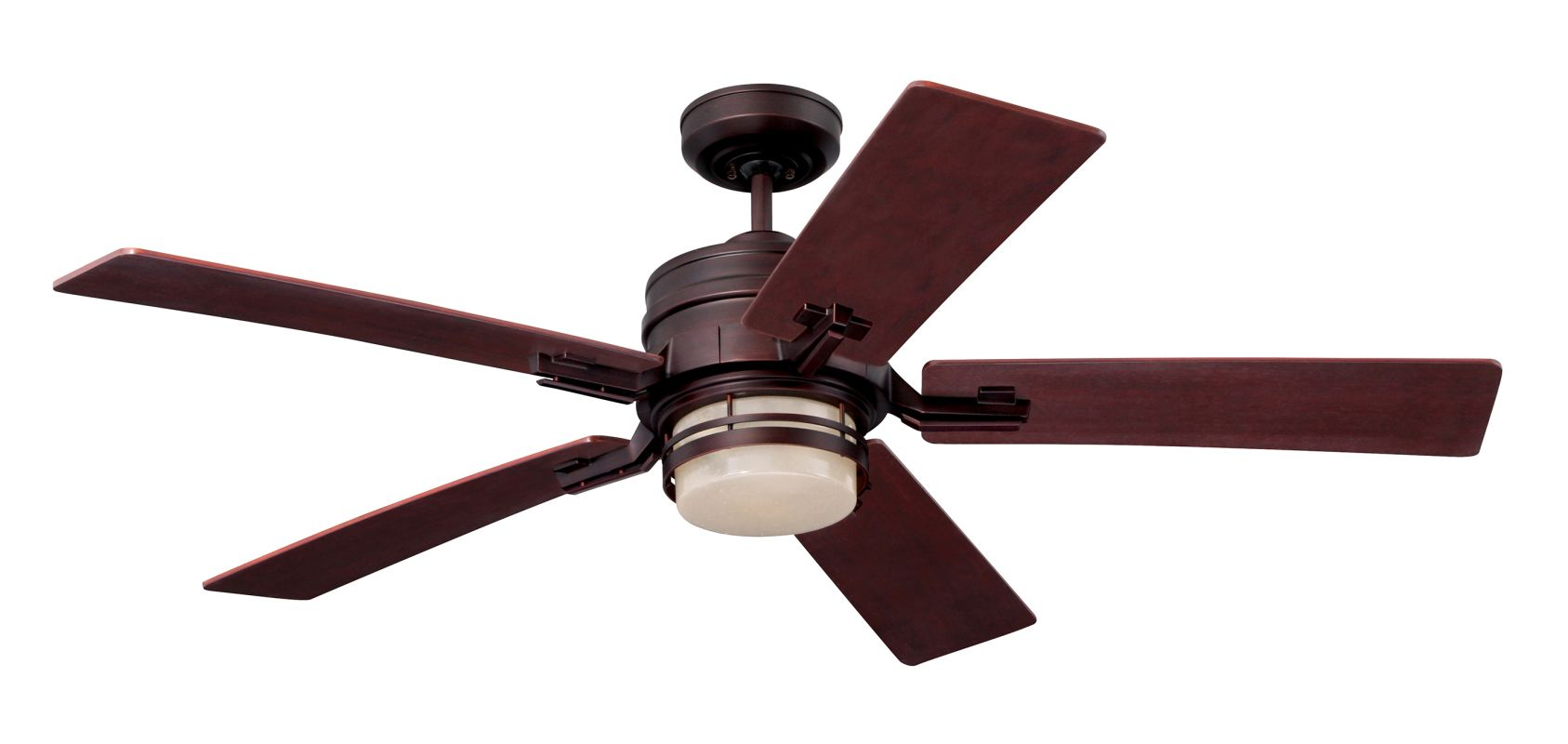 "Emerson CF880 Amhurst 54"" 5 Blade Ceiling Fan - Blades and Light Kit"