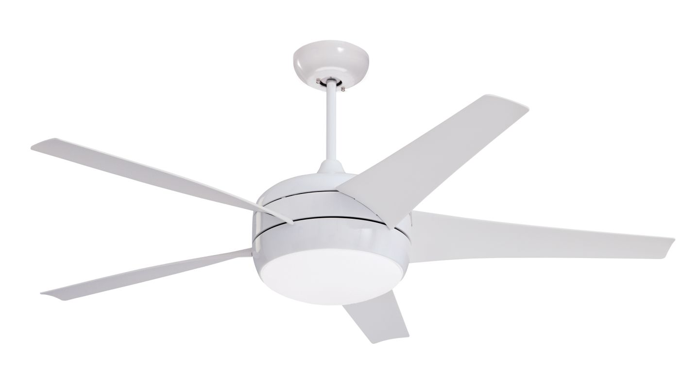"Emerson CF955 Midway Eco 54"" 5 Blade Ceiling Fan - Blades and Light"