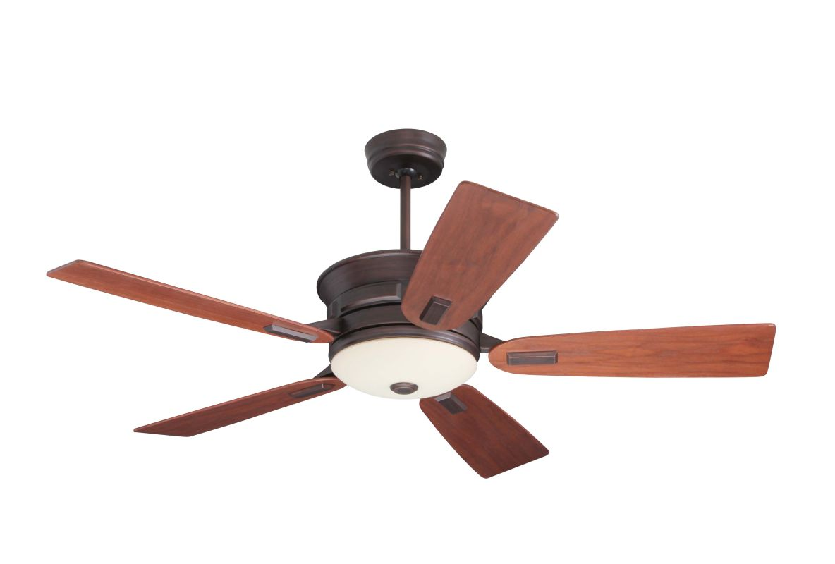"Emerson CF990 Highgrove 52"" 5 Blade Ceiling Fan - Blades and Light Kit"