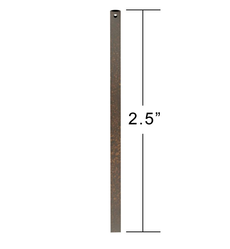 "Emerson CFDR25 2.5"" Downrod / Close to Ceiling GILDED BRONZE Ceiling"