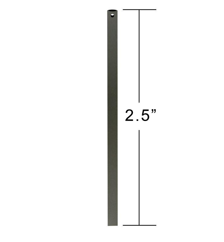 "Emerson CFDR25 2.5"" Downrod / Close to Ceiling GILDED ESPRESSO Ceiling"