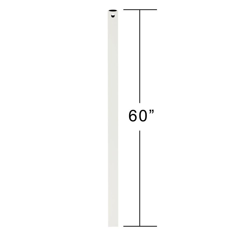 "Emerson CFDR5 60"" Downrod for Ceiling Fan Satin White Ceiling Fan"