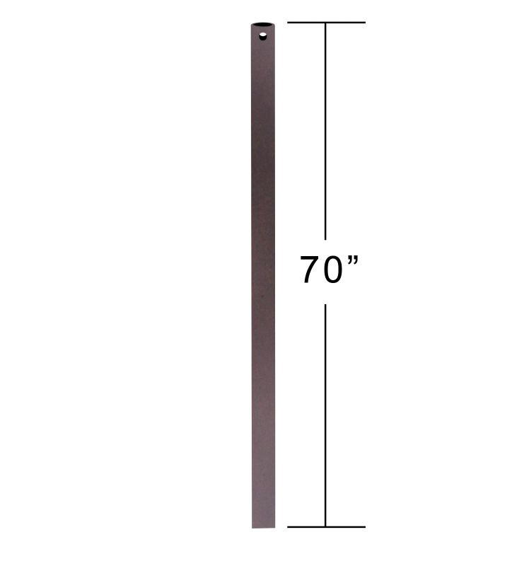 "Emerson CFDR70 70"" Downrod for Ceiling Fan Oil Rubbed Bronze Ceiling"