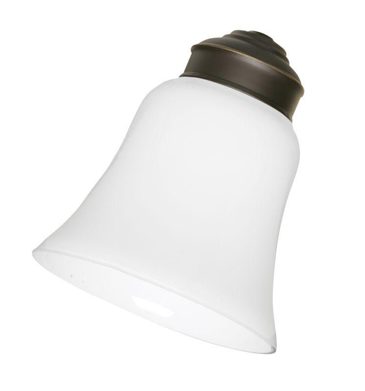 Emerson CFGW Fan Light Kit Glassware Traditional White Ceiling Fan